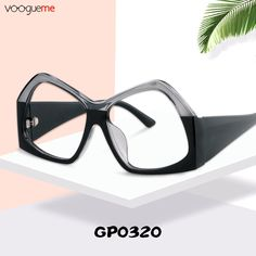 e6a91aaafc Estelle Geometric Black Eyeglasses These glasses are made of high quality  plastic.The geometric frame