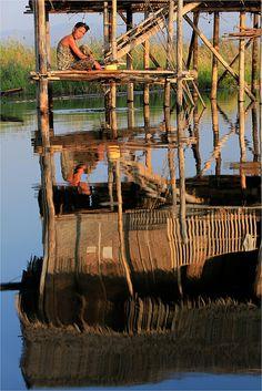 Begin the day.. Myanmar
