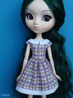 Dress for Pullip or Azone doll. por Kosucas en Etsy, €7.50