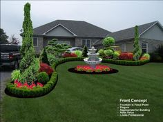 Formal garden with Japanese maples | This large property needed a landscape to m... - #formal #Garden #Japanese #Landscape #large #maples #needed #property