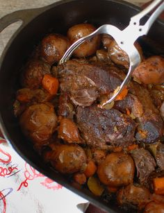 Old Fashioned Pot Roast ~ absolutely phenomenal!