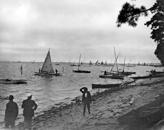 Thousands of log canoes once plied the Chesapeake Bay. Here's a tease for Mariners' Museum Chief Curator Lyles Forbes and his free 7 p.m. Tuesday talk at Jamestown Settlement, which is hosting a year-long exhibit: http://bit.ly/1R6krps -- Mark St. John Erickson