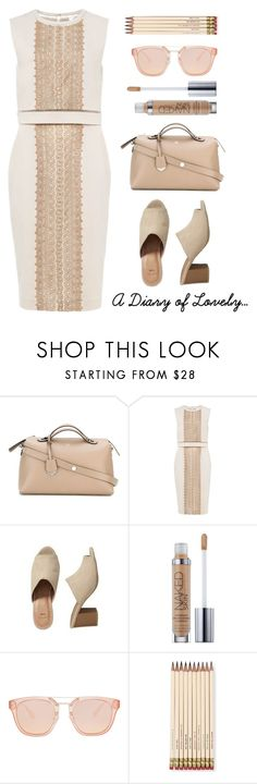 """""""Big bag"""" by sukia ❤ liked on Polyvore featuring Fendi, Phase Eight, Urban Decay and Kate Spade"""