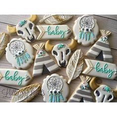 """@lottatreats's photo: """"Loved making this set for a local mom to be! Inspired by…"""