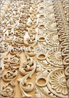 деревянные узоры