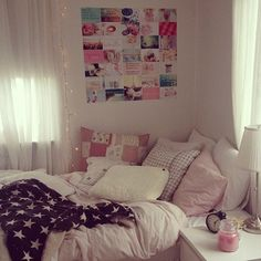 rosy bedroom ♡