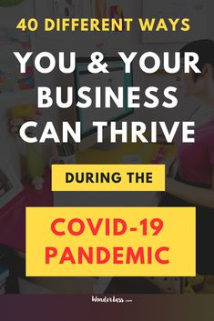 Wondering what you and your business can do to survive the pandemic and to come out on the other side even STRONGER? Then check out this post. because I'm sharing 40 WHOLE ways you ( & your biz) can overcome this! #todolist #onlinebusinesstips