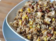 Southwest Rice and Bean Salad