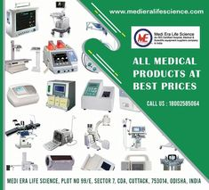 MEDI ERA LIFE Science India established in 2003, is considered to be among the prominent manufacturer, exporter, wholesaler, trader and importer of the high quality of Medical,Hospital,Laboratory Equipments. We are committed on providing the highest quality products, services to all our Clients. Our vision at MEDI ERA LIFE Science India is to be a leading, respected force in the healthcare field. Life Science, Health Care, Medical, India, Products, Goa India, Medicine, Med School, Gadget