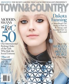 Town & Country August 2014 Cover