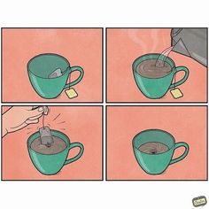 Gudim Anton's humorous comic strips take a fresh perspective on the mundane Charcoal Paint, Visual Puns, Life Humor, Cool Art, Awesome Art, Funny Fails, Anton, Graphic Design Illustration, Funny Comics