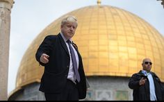 Boris Johnson banned from Palestinian charity visit after branding Israel boycotters 'lefty academics'