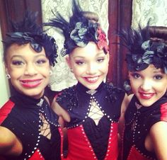 Nia, Maddie and Kendall