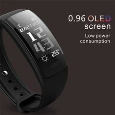 Diggro Blood Pressure Smart Bracelet Heart Rate Monitor Blood Oxygen Monitor Fitness Tracker for Andriod IOS VS Smart Bracelet, Bracelet Watch, Workout Accessories, Fashion Accessories, Heart Rate Monitor, School Backpacks, Fitness Tracker, Baby Feeding, Cool Gadgets
