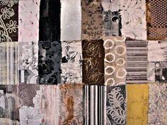 Patterns   Siebdruck + Malerei   180cm x 120cm