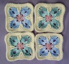 """Video by """"It's all in a Nutshell"""" Crochet along with Pippin Crochet Club on Facebook Border done with 2.75mm hook."""