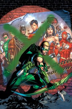 New 52 Green Arrow