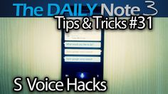Samsung Galaxy Note 3 Tips & Tricks Ep. 31: S Voice Hacks (Turn Off Scre...