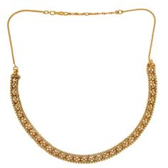 Maayra Plush Gold Indian Ethnic Choker without Earrings #onlineshopping http://goo.gl/pD45It