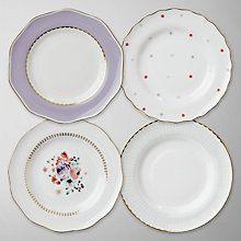 cute tea plates