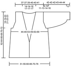 "DROPS 105-29 - DROPS jakke i ""Alpaca"" og ""Vivaldi"". Str S - XXXL. - Free pattern by DROPS Design"