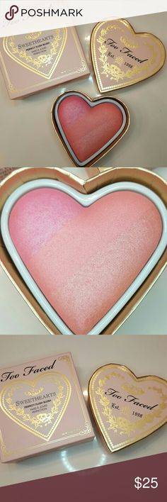 Too Faced Sweethearts Blush - Candy Glow Too Faced Sweethearts Blush   *  Candy Glow   *  new   *  in box   *  never used   *  as is    *  smoke free and pet free home Too Faced Makeup Blush