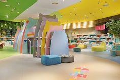 Do do - picture gallery kids space in 2019 магазин витрина дизайн, витрины мага Kids Store, Baby Store, Furniture Ads, Furniture Design, Furniture Removal, Kids Cafe, Retail Store Design, Library Design, Shop Interior Design