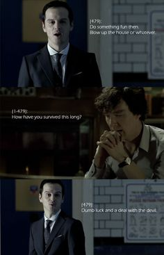 Omg I can so imagine him saying that!