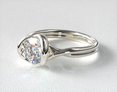 Modern Tension Set Engagement Rings | JamesAllen.com Matching Wedding Rings, Wedding Matches, Engagement Rings Sale, White Gold, Jewels, Gemstones, Diamonds, Yellow, Modern