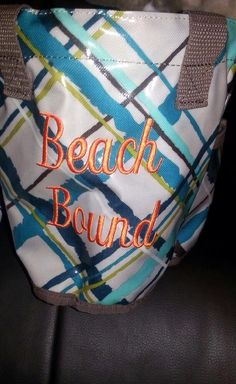 Thirty One Gifts, Round-about Caddy, great for collecting sea shells, Orange on sea plaid.  For new prints, Join my FB group, just click the pic.