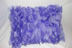 almofada folhas em voil cristal | Babylize enxovais | Elo7