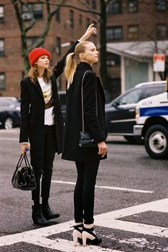 New York Fashion Week AW 2013....Sigrid and Bette - Vanessa Jackmanf