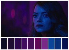 Image about dark in La La Land aesthetic. Movie Color Palette, Colour Pallette, Moonrise Kingdom, Michael Keaton, Cinema Colours, Color In Film, Damien Chazelle, Color Script, Film Aesthetic