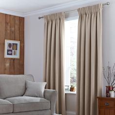 Excellent collection of ready made pencil pleat curtains perfect for all rooms in your home. Fully lined pencil pleat curtains and blackout pencil pleat curtains, all available from Dunelm. Pleated Curtains, Curtains Living, Lined Curtains, Velvet Curtains, Curtains For Sale, White Curtains, Curtains With Blinds, Insulated Curtains, Thermal Curtains