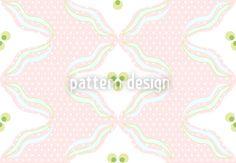Polka Dots With Waves Vector Design Vector Pattern, Pattern Design, Vector File, Polka Dots, Waves, Patterns, Illustration, Artwork, Inspiration
