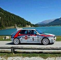 My Dream Car, Dream Cars, Sport Cars, Race Cars, Carros Suv, Lancia Delta Integrale, Hatchback Cars, Martini Racing, Top Cars