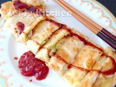 傳統麵皮撖出來的口感就是不一樣 外酥內軟的蛋餅 美味再升級 歡迎來【曼谷台灣好滋味】逛逛哦 https://www.facebook.com/twway