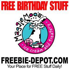 ►► BIRTHDAY FREEBIE - MaggieMoo's Ice Cream ►► #BDay, #BirthdayFreebie, #FreeBirthdayStuff, #Frugal, #HappyBirthday ►►