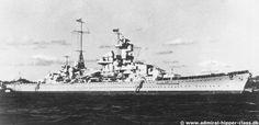 Blücher was a Admiral Hipper-class German heavy cruiser.