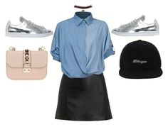 """""""Sin título #35"""" by blenm ❤ liked on Polyvore featuring T By Alexander Wang, Chicnova Fashion, Wet Seal, adidas and Valentino"""