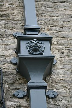 traditional cast iron guttering, cast iron rainwater systems, cast gutters and pipes from the UK's leading manufacturer, Tuscan Foundry Products Ltd. Cast Iron, It Cast, Copper Gutters, Mansions Homes, France, French Country House, Victorian Homes, Architecture Details, Architecture