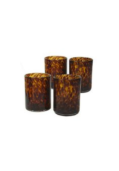 Tortoiseshell Drinking Glasses