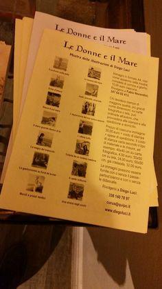 Il depliant della mostra.  http://libristellari.webnode.it