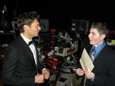 James, 16, wished to meet Ryan Seacrest at Dick Clark's New Years Rockin' Eve.