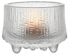 Ultima Thule Tealight Candleholder, Matte Frost - Votive Holders - Candle Holders - Decorative Accents - Home Accents - Decor Tea Light Candles, Tea Lights, Danish Design Store, Tealight Candle Holders, Handmade Home Decor, Accent Decor, Frost, Ice, Inspired