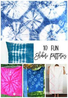 10 Fun Shibori Patte