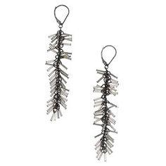 Tassel Earrings Sterling Silver, $110,  by Deborah Rice !!