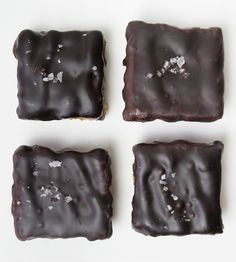 Salted Chocolate Coconut Squares