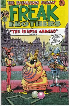 FABULOUS FURRY FREAK BROTHERS (Rip Off Press Inc.) Nr.09 ~ <3 theses!