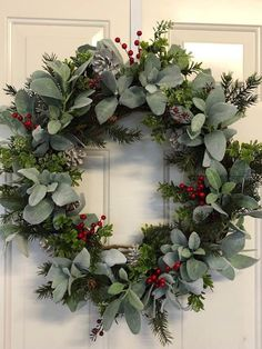 Your place to buy and sell all things handmade image 0 Natural Christmas, Rustic Christmas, Handmade Christmas, Christmas Crafts, Christmas Tree, Holiday Wreaths, Holiday Decor, Corona Floral, Christmas Table Decorations